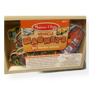 NWT Melissa & Doug Vehicle Magnets